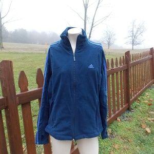 Adidas Soft Full Zip Jacket Size Medium